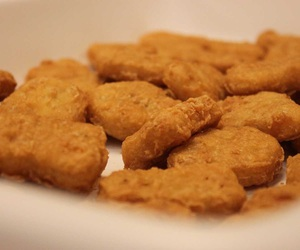 Chicken, food, and chicken nuggets image