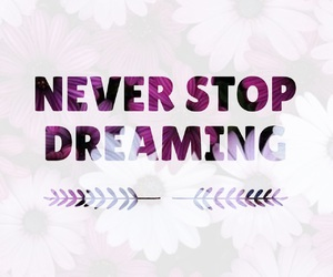 never, dreaming, and Dream image