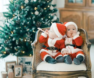 christmas and baby image