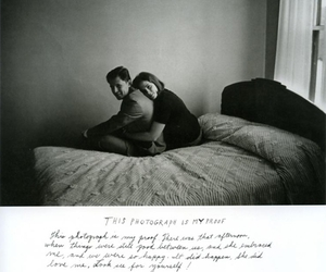 black and white, photography, and duane michals image