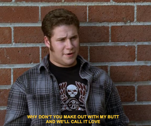 freaks and geeks, funny, and seth rogen image