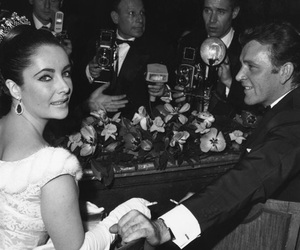 Elizabeth Taylor, love story, and richard burton image