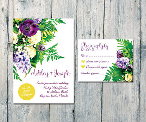 card, etsy, and flower image
