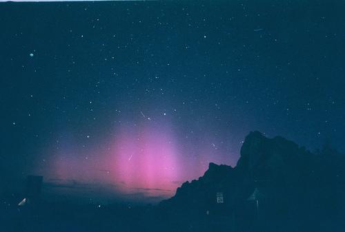 sky, stars, and night image