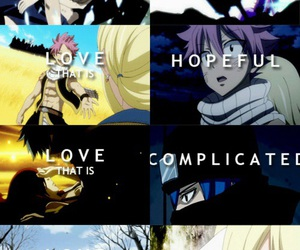 fairy tail, anime, and love image