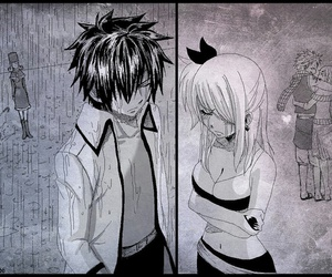Lucy, fairy tail, and graylu image