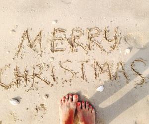 Dubai, merry christmas, and winter on the beach image