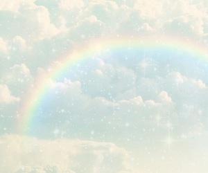pastel and rainbow image