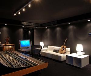 house, luxury, and recording studio image