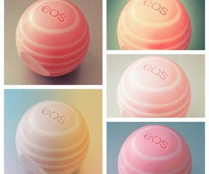 coconut, lipbalm, and pink image