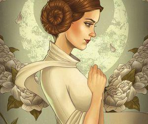 Princess Leia and star wars image
