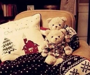 christmas, teddy, and bear image
