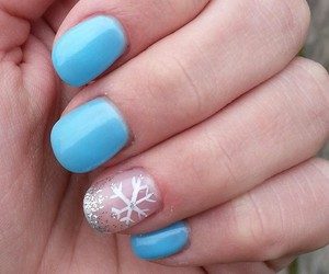 frozen, ice, and nails image