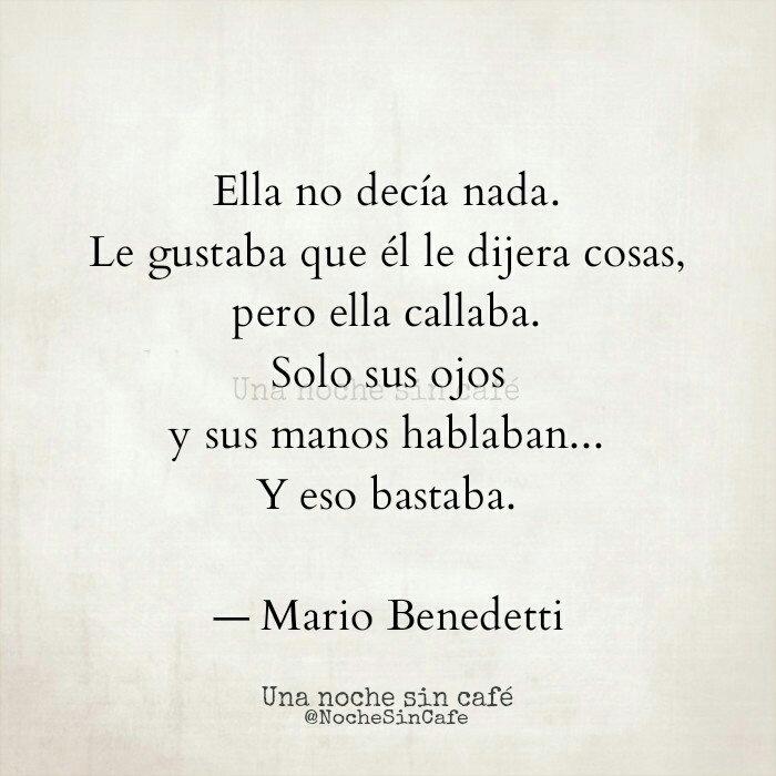 Y Eso Bastaba Shared By Alejandra On We Heart It