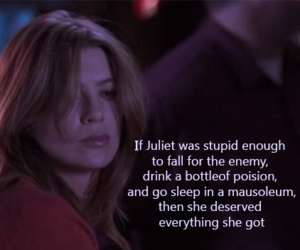 greys anatomy, meredith grey, and greys anatomy quotes image