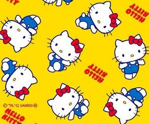 hello kitty, wallpaper, and kawaii image
