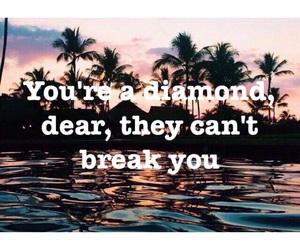 diamond and saying image
