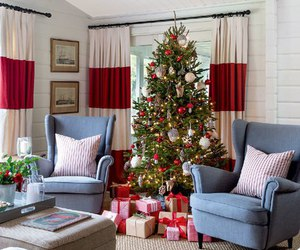 christmas, christmas tree, and gifts image
