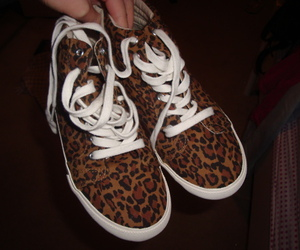 leopard, shoes, and cute image