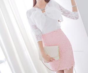 kawaii, korean, and pink image