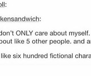 funny, fangirl, and fictional characters image