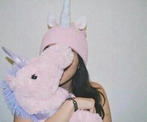 unicorn, pink, and tumblr image