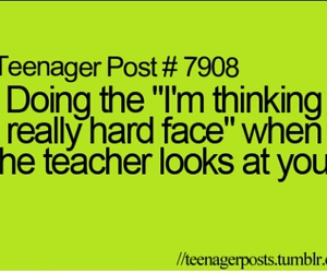 teenager post, school, and teacher image