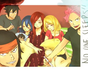 fairy tail, nalu, and erza image