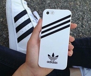 adidas, cell, and apple image