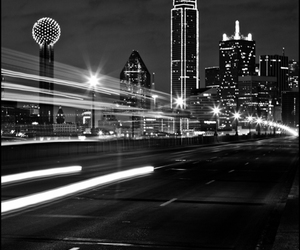 beauty, black and white, and city image