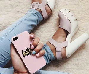 batman, shoes, and phone case image