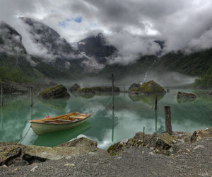 lake, nature, and norway image