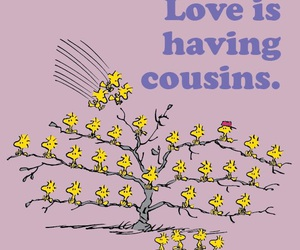 cousin, family, and snoopy image