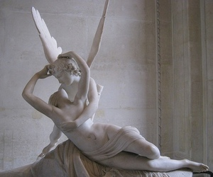 angel, marble, and museum image
