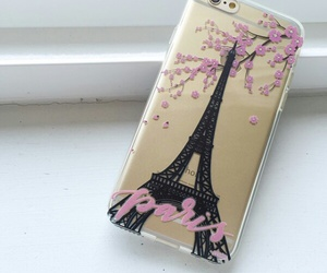 eiffel tower, phone, and torre eiffel image