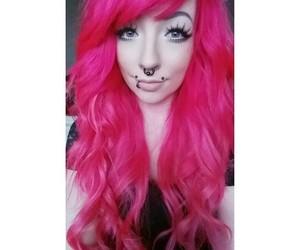 kawaii, pinkhair, and alt girl image