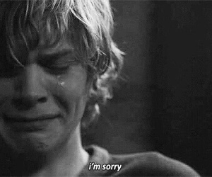 american horror story, sorry, and tate image