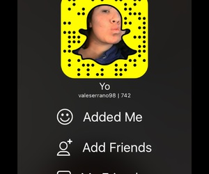 add, friends., and snapchat image