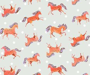 caballo, horse, and pattern image