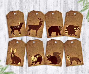 cute animals, etsy, and party favors image