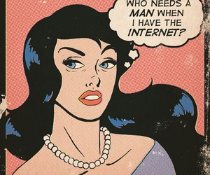 internet, comic, and man image