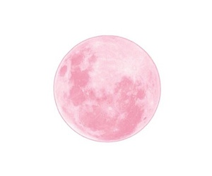 moon, overlay, and pink image