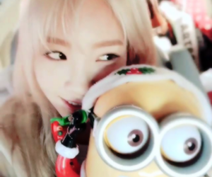 icons, minions, and taeyeon image