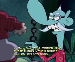 women, cartoon, and quote image