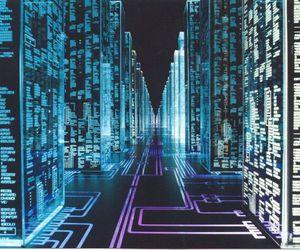 cyber, futuristic, and matrix image