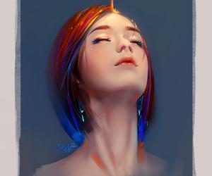 art, beautiful girl, and girl image
