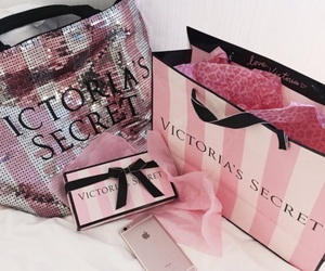 pink, Victoria's Secret, and iphone image