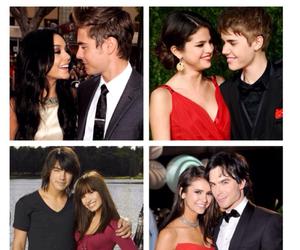 couple, demi lovato, and Joe Jonas image