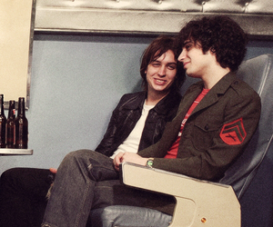 the strokes, fabrizio moretti, and vintage image
