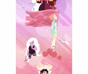 amethyst, steven universe, and stevonnie image